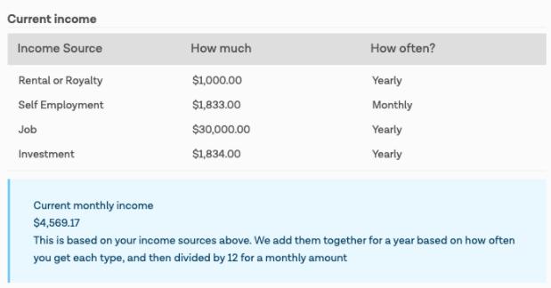 Income Estimate GetCoveredNJ March 2021